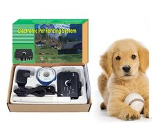 2015 For 2 Dogs In-Ground Underground Shock Collar Dog Training Pet Electric Fence