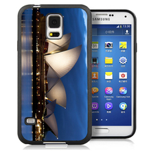 Sydney Opera House  Cell Phone Case Bag For Samsung Note 2 Note 3 Note 4 Note 5 S3 S4 S5 S7 S6 edge plus Soft Rubber Skin Cover