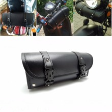 Motorcycle Front Forks Bags Sissy Bar Tool Bags Handlebar Bags for Harley Scooter Storage Tool Pouch Luggage Bag(China)