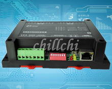 6 channel relay output module RJ45 Ethernet TCPIP Modbus industrial controller IO module