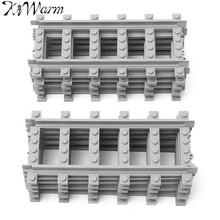 KiWarm 10Pcs Straight Train Tracks Railroad Building Block Sets DIY Scaled Model Building Layout for Micro Landscape Home Decor
