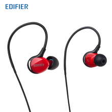 Edifier P281 Sports Sweatproof Earphones IP57 Rating Waterproof Dustproof Headphones with Microphone for Sport(China)