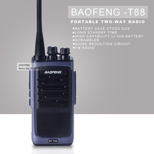 Walkie Talkie baofeng T88 UHF 400-480MHz 8W VOX FM Radio Monitor Scan Two Way Radio Professional Transceiver