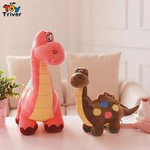 Triver Toy lovely cute 1pc cartoon dinosaur plush toy stuffed animal doll baby boy girl kids kawaii gift free shipping
