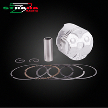 Engine Cylinder Part Piston and Piston Rings Kits For HONDA CBR250RR MC17 1987 CBR17 NC17 CBR250 Motorcycle Accessories(China)