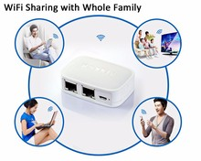 Wifi router NEXX WT3020F 300M Portable Mini 802.11 b/g/n wifi AP Repeater Wifi Bridge Wireless Router Support USB Flash Drive