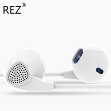 REZ Brand PTM IM500 Headphones Earphone Best Bass Universal Music Headset Earbuds with Microphone for IPhone 5 5s 6 6Plus(China)