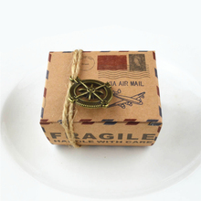 Party Wedding Decoration Candy Box 5Ps Small Kraft Paper Gift Packaging Box,kraft Cardboard Handmade Soap,craft Paper Gift Box,Q