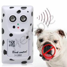 Heropie Full automatic sound control ultrasonic stop barking dog training device power adapter electric dog trainning collar(China)