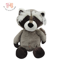 Cute NICI Coon Bear Plush Dolls Raccoon Plush Toy Plush Bear Cute Little Coon Toys Girl Gift Kids Toy Full length 30cm 1pcs