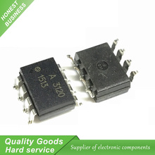 10PCS A3120 HCPL3120, HCPL - 3120 SOP MOS FET driver New Original(China)