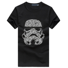 Buy Hot Star War Darth Vader Men's T-Shirts Cotton O Neck Short Sleeve fashion brand clothing 2017 summer hip hop fitness tops tees for $6.84 in AliExpress store