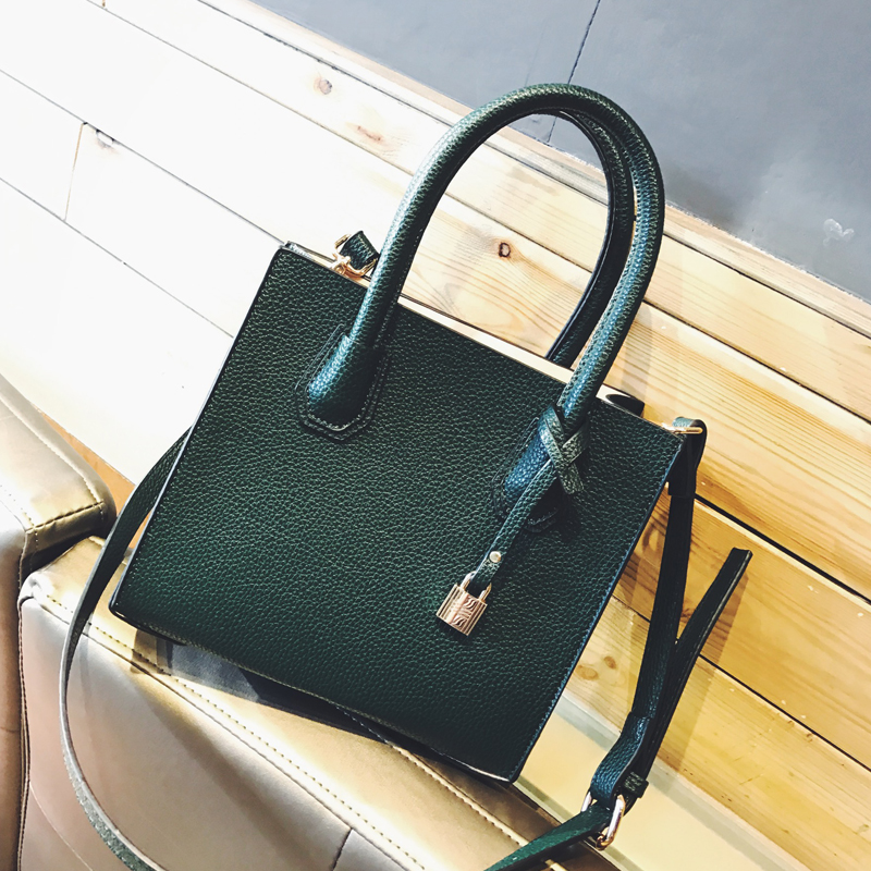 Famous brand women handbag  leather tote bag female classic lock shoulder bags ladies michael handbags messenger bag<br><br>Aliexpress