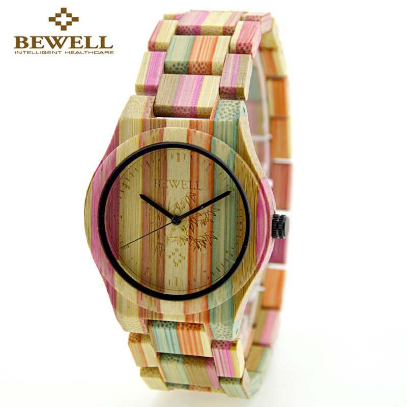 Luxury Top Brand BEWELL Wood Watches Women Lightweight Bomboo Wooden Women`s WristWatch Ladies Quartz-Watch Relojes Mujer 2017<br><br>Aliexpress