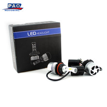 Automobiles LED Car Truck SUV RV HID Headlight Led Lamps Bulbs DC 9V-36V 9007W HB5 72W 7200LM Car-Styling Front Light(China)