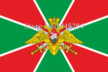 Flag officials of Russian border troops 2 Russia State Flag New 3x5ft 90x150cm Polyester Flag Banner,  free shipping