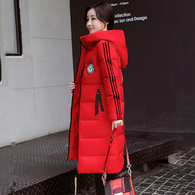 WMWMNU plus size long winter jacket 2017 Warm High Quality Quilting Parkas Hood Pockets Winter Women Coat Outwear jacket ls080Îäåæäà è àêñåññóàðû<br><br>