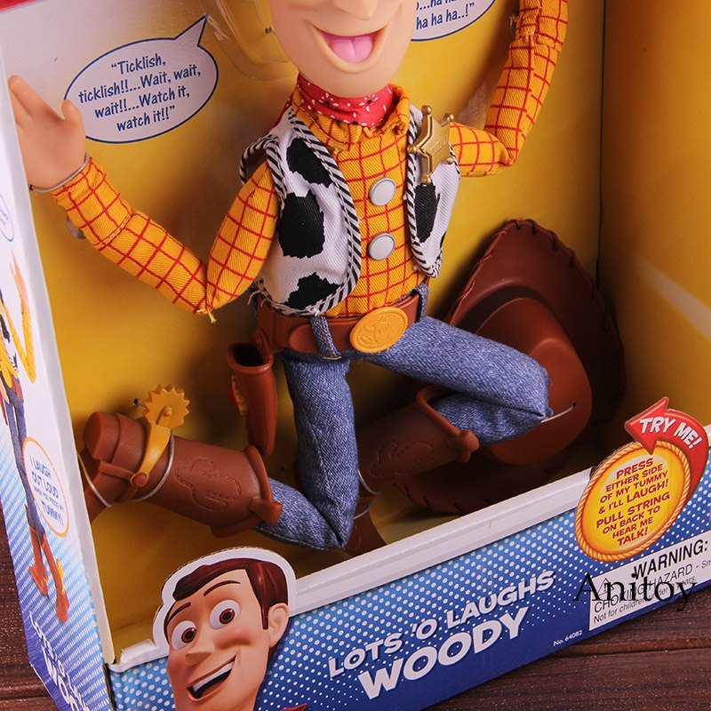 Toy Story Toys Lots O Laughs Woody Sing N Yodel Jessie Toy Story PVC Action Figu