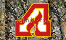 Camouflage background banner with metal grommet 90x150cm Atlanta Thrashers Flag(China)