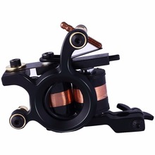 Tattoo Gun Machine For Liner Shader 8 Wraps Coils Handmade Tattoo Machine Artist Basic Starter(China)