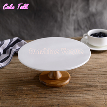 Ceramic wood cake plate dessert pizza plate party supplier bakeware cake tools Home Decor plate Food photography  props