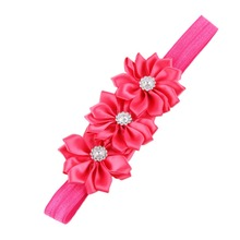 New 2016 Europe And America Headband Hairband Infant Children's Corner Flower Drop Shipping