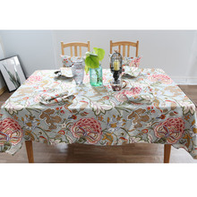 New Home Party Tablecloth Rectangle Table cloths cloth christmas fabric round Covers Tables Clothes Wedding decoration Party(China)