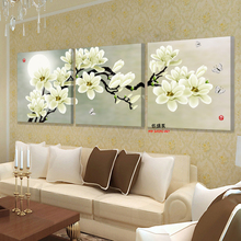 3 panel wall art hd print canvas prints cuadros decoracion flores cheap modern paintings modular triptych pictures for living(China)