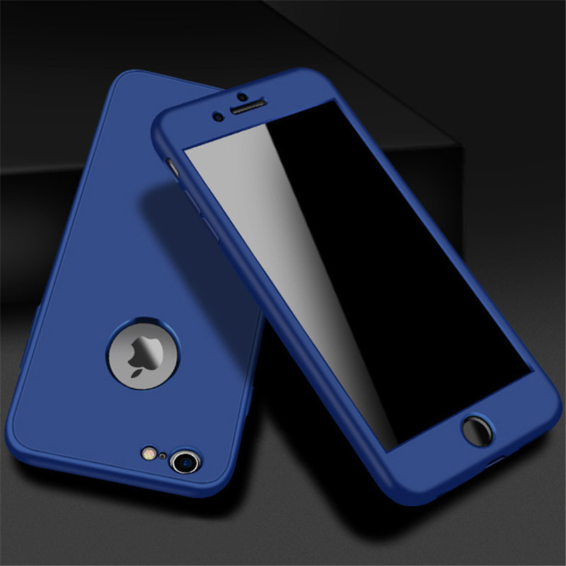 Luxury Soft TPU 360 Full Cover Cases For iPhone 9 X 8 7 6 6S Case 5 5S SE Cover Cases For iPhone 6 7 8 9 Plus case 6.1 6.5 inch (5)