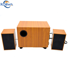 USB Mini Wired Wooden Speaker Square Subwoofer Loudspeaker Music Box Stand Surround Sound Player For Laptop Tablet PC