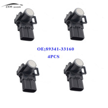 4pcs New 89341-33160 For Toyota Lexus Reversing Sensor Wireless Front And Rear Parking Sensors White(China)
