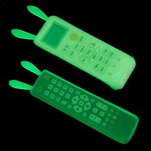 Air Conditioning Remote Control Protective Cover TV Remote Controller Case Silicone Protection Covers(China)