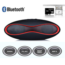Rugby Football Caixa De Som MINI-X6 Bluetooth Speakers Stereo Handsfree Sound Box Subwoofer  crack  Speaker Support TF Card USB