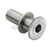 "Free Shipping Thru Hull Fitting for 1/2"" Hose Marine Boat Hardware Stainless Steel"