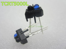 new 10 pcs TCRT5000L TCRT5000 Reflective Infrared Optical Sensor Photoelectric Switches