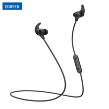 EDIFIER W280BT Bluetooth Earphones In-ear Wireless Headphones IPX4 Enclosure Rating Sports Headset BT V4.1 Dual Battery Design(China)