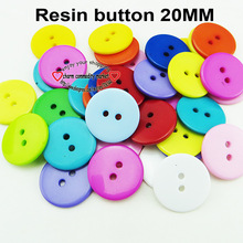 100PCS  20MM MIXED  SHIRT round resin buttons coat boots sewing clothes accessories R-264