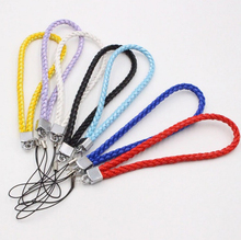 Short Wrist Straps chain for Mobile phone,camera, usb flash drive Neylon Weave Lanyard Rope