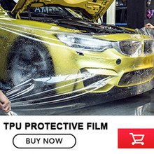 Paint Protection film High Stretchability Car Body PVC TPU Paint Protection film Anti-scratch Anti-Wrinkle free shipping