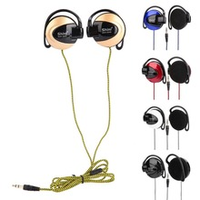 Universal 3.5mm Wired Headphones Gaming Ear Hook Braided Cable Earphone Cheapest Headset For Mp3 Player Mobile Phone