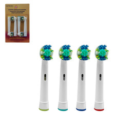 4Pcs EB-25A Model Electric Toothbrush Head Replacement Tooth Brush Heads Cleaning Tool for Braun Oral-B D4510/D12013/D12013W rp