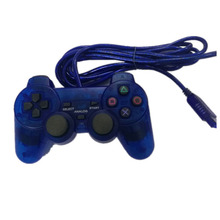 wired gamepad  Shock Wired Game Controller Joypad Pad for Sony PS2 Playstation 2 long cable joystick NYGACN