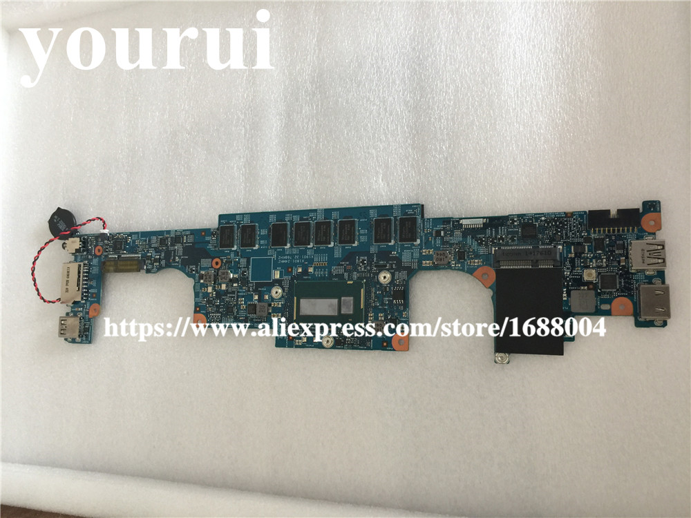 Laptop motherboard For  DELL 7437   I3-4020U 4G  F6GHD 0F6GHD  CN-0F6GHD