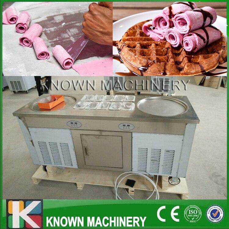 Fried ice cream roller machine
