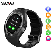 "Buy 1.54"" Bluetooth Smart Watch Android iOS smart phone watch Support TF/SIM card fitness smart watch children/Adult smartwatch for $14.83 in AliExpress store"