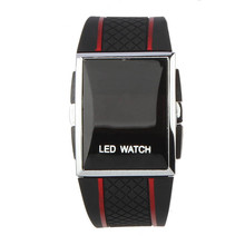 9s & cheap Boy Men Stylish LED Digital Date Silicone Band Sports Wrist Watch  High quality watch  M 28  0717