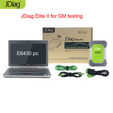 JDiag Elite II Pro Standard Version J2534 Hardware With E6430 PC 4G RAM i5 CPU 160GB SSD for GDS with EL50448 TPMS system