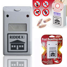 New Riddex Plus Pest Repellent Repelling Aid for Rodents Roaches Ants Spiders EU/US(China)