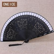 Japanese Fan And Wind Craft Ancient Folding Hollow Paint Handmade Folding Wedding Decoration Home(China)