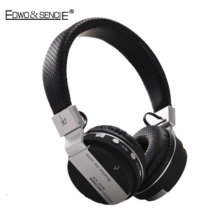 EDWO 209B Wireless Bluetooth Headphone Stereo Music Headset Earbuds With Mic Support TF Card For iPhone Samsung Xiaomi Huawei PC<br><br>Aliexpress